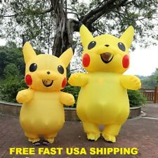 Inflatable Pikachu Costumes Cosplay Carnival Pokemon Costumes Halloween