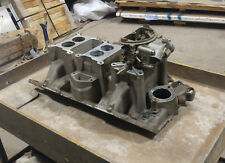 1970 340 Six Pack intake and front carburetor carb Pak T/A Cuda AAR 'Cuda
