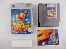 Nintendo NES Digger T Rock The Legend Of The Lost City Boxed PAL A