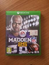 Collectable Microsoft Xbox One Games. Madden 25. Bargains.