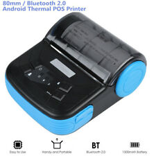 Wireless Bluetooth Thermal Label Printer 80mm Thermal Receipt Printing Machine