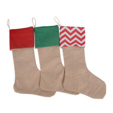 Christmas Cotton Christmas Canvas Candy Bag Long Socks Gift Bag Christmas BS