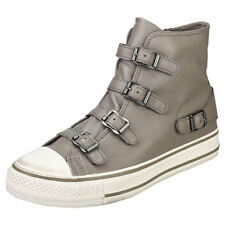 Ash Virgin Perkish Womens Taupe Leather Trainers