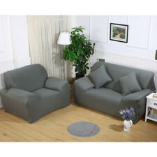 Stretch Loveseat Sofa Couch Protect Cover Slipcover For 1-2-3-4 Seater L-shaped