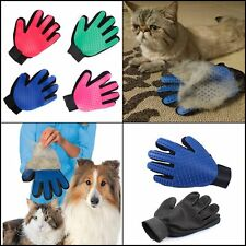 Pet Bath Brush Grooming Silicone Massage Glove for Cats Dogs Hair Remover Gentle