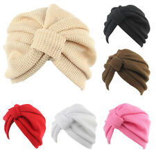 Casual Ruffle headwear Cancer Chemo Hat Head Wrap Cap Women Turban Elastic