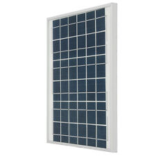 Silver/Black 10W 18V Polycrystalline Silicon Solar Panel With Junction Box For