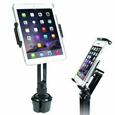 New 2 in 1 Car Cup Holder Mount Tablets Cell Phones Universal Adjustable CupFone