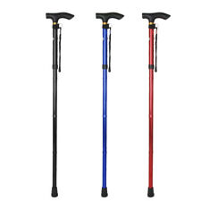 WALKING STICK Adjustable Anti-Shock Retractable Pole Crutches Cane for Elderly