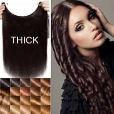 Sweetie 16-24 Secret Headband 100% Human Remy Hair Extensions Wire In Weft Brown