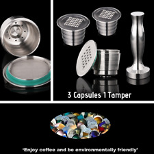 Refillable Coffee Capsule Reusable Coffee Pod Stainless Steel Coffeeware Gift