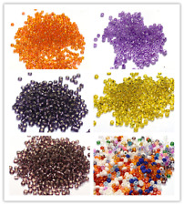 4000pcs 2mm Jewelry Making DIY Loose Czech Glass Rondelle Spacer Seed Beads