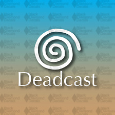 "Deadcast Dreamcast MEME Funny Gamer Console 5"" Custom Vinyl Decal JDM"