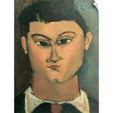 """Wall Decal """"Portrait of the Painter Moise Kisling, 1915"""""""