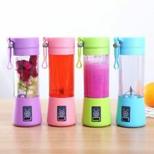 USB Juicer Cup Handheld Fruit Smoothie Maker Blender Portable Recharge 380ML