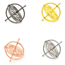 Metal Gyroscope Spinner Gyro Science Educational Learning Balance Toy  RAC