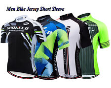 Cycling Jersey Men Short Sleeve Bike Shirt Lightweight Bicyle Clothing Quick Dry