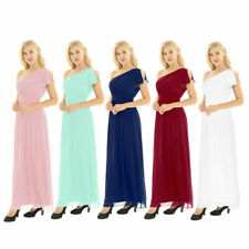 Lady Formal Wedding Bridesmaid Evening Party Ball Prom Gown Long Cocktail Dress