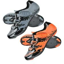 Boodun Mens Outdoor Cycling Shoes Adjustable Breathable Racing Bike Sport Shoes