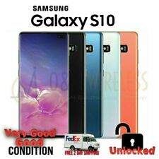 Samsung Galaxy S10 (SM-G973U1 Factory Unlocked) 128/512GB Excellent Condition