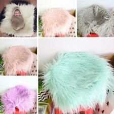 Infant Baby Photo Props Newborn Photography Soft Fur New Gift Quilt Blanket O3T5