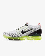 Nike Air VaporMax Flyknit 3 Mens Shoes White / Black Trainers