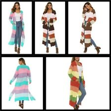 Sweater Womens Coat Loose Long Sleeve Cardigan Knitted Jacket Outwear Casual
