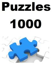 Puzzles 1000 Pieces Ravensburger choose Model Many a Budget Price of Clearance