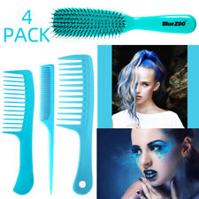 4Pc Salon Hair Styling Combs Professional Hairdressing Brush Heat-resistant
