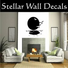 Moon Moons Wall or Car Vinyl Decal Sticker CF12019