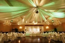 """108"""" x 100 Yards Tulle Wedding Decoration 25 Colors"""