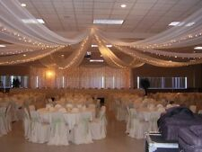 """54"""" x 160 Yards Tulle Wedding Decoration 25 Colors"""