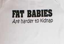 Funny Cute Baby Infant Toddler T-Shirt- FAT BABIES...
