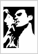 Morrissey The Smiths reusable mylar wall art stencil Various sizes available