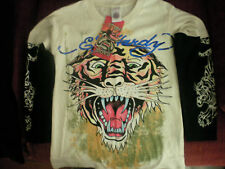 ED HARDY TIGER  LONG SLEEVE TEE NWT