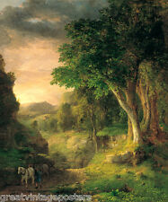 IN THE BERKSHIRES AMERICAN LANDSCAPE PAINTING BY GEORGE INNESS REPRO