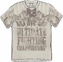 BNWT UFC TONAL CREAM SHIRT MMA XL XXL ULTIMATE FIGHTER