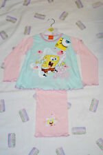 BNWT PERSONALISED SPONGEBOB PYJAMAS 18-24m 2-3-4years