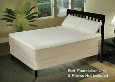 "14"" Cassandra Visco-Elastic Memory Foam & Natural Latex Adjustable Bed Mattress"