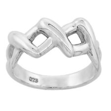 Sterling Silver High Polished XXX Ring trp453