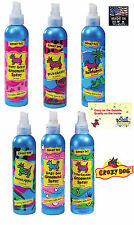 Grooming CRAZY DOG Conditioning Cologne & Deodorant Mist Spray Puppy Cat Horse