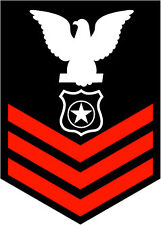 STICKER RANK U S NAVY E6 PETTY OFFICER