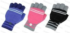 GIRLS CHILDRENS KIDS THERMAL FINGERLESS COMBO MITTENS GLOVES ALL COLOURS  BNWT