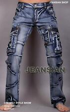 "I4S Jeanus Men's Designer Jeans Denim Pant Stylish 30""--36"" ~USA Seller #J05"