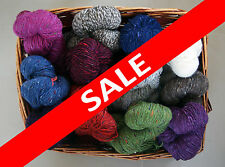 200g of Donegal Aran Tweed Irish Knitting yarn.100% wool from Ireland 2014