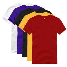 New Men Womens Casual Tee T-Shirts Crew Neck Short Sleeve 100% Contton Wholesale