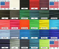 550 paracord parachute cord Type III 7 Strand - 10ft 20ft 50ft 100ft