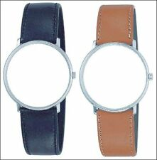 JUNGHANS / MAX BILL Leather Watch Strap - 18mm - WITH DEPLOYANT BUCKLE