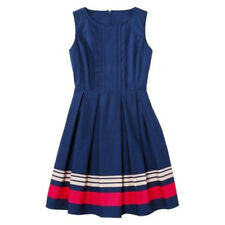 NEW! JASON WU for Target POPLIN DRESS in NAVY BLUE w/ pockets HOT Freedom!