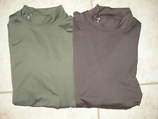 NWT MEN'S UNDER ARMOUR COLD GEAR CAMPING ARMOUR BLOCK EVO MOCK TOP M-2XL$50